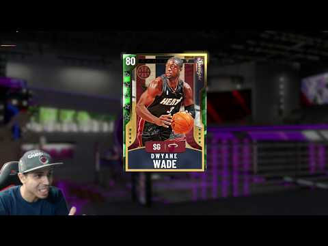 How to Dunk With EMERALD DWYANE WADE! FREE AMETHYST WADE IN NBA 2K20 MYTEAM EVOLUTION CARDS!