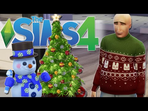 FREE CHRISTMAS DLC | The Sims 4 Gameplay #25