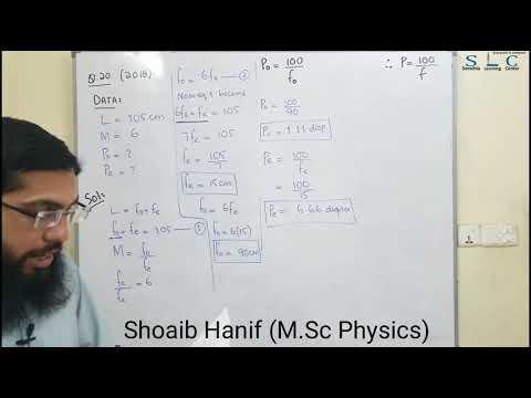 Chapter# 10- Astronomical Telescope Lecture II Urdu/Hindi By Shoaib Hanif