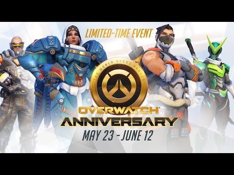 Thumbnail: [NEW SEASONAL EVENT] Welcome to our Overwatch Anniversary!