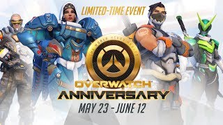 NEW SEASONAL EVENT Welcome to our Overwatch Anniversary Party on the payload Whos in httpblizzlyOWY1Anniversary From now until June 12 were raising our glasses in a virtual toast to all the soldiers scientists ...