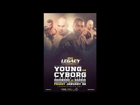Legacy 50 Prelims - Erick Brazier vs Eduardo Anaya
