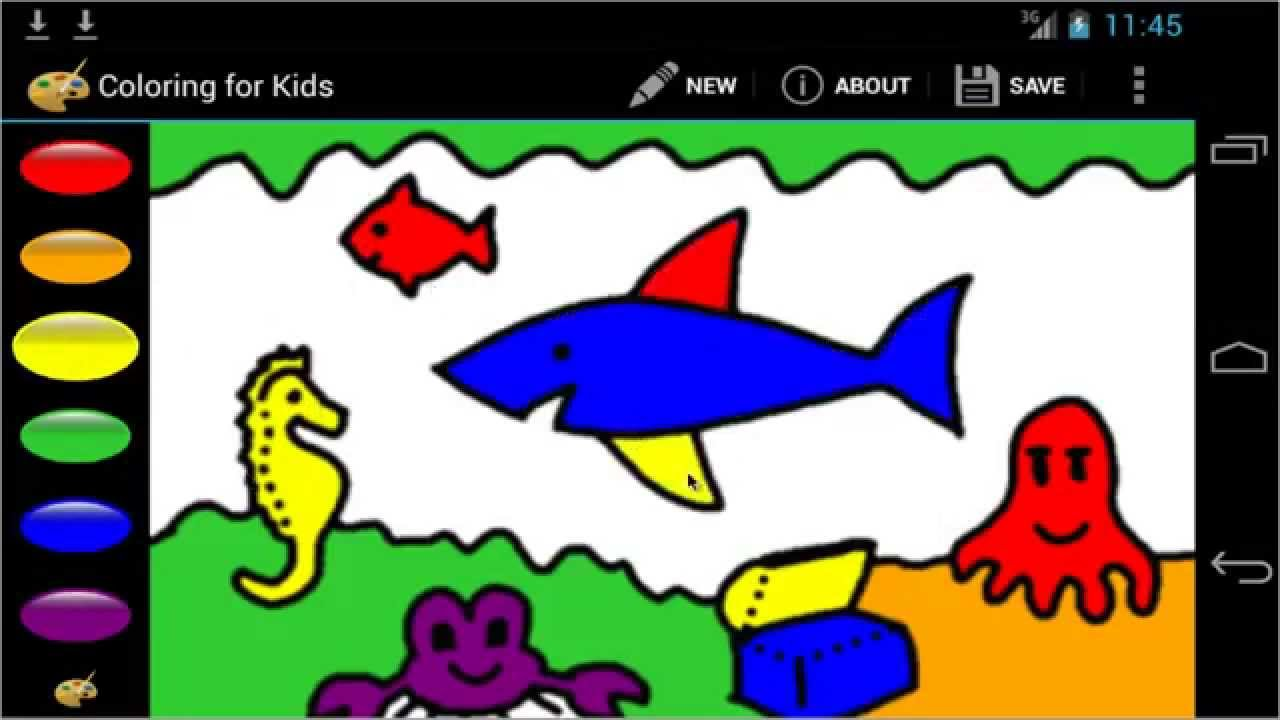 Open Source Android Apps Coloring For Kids Youtube