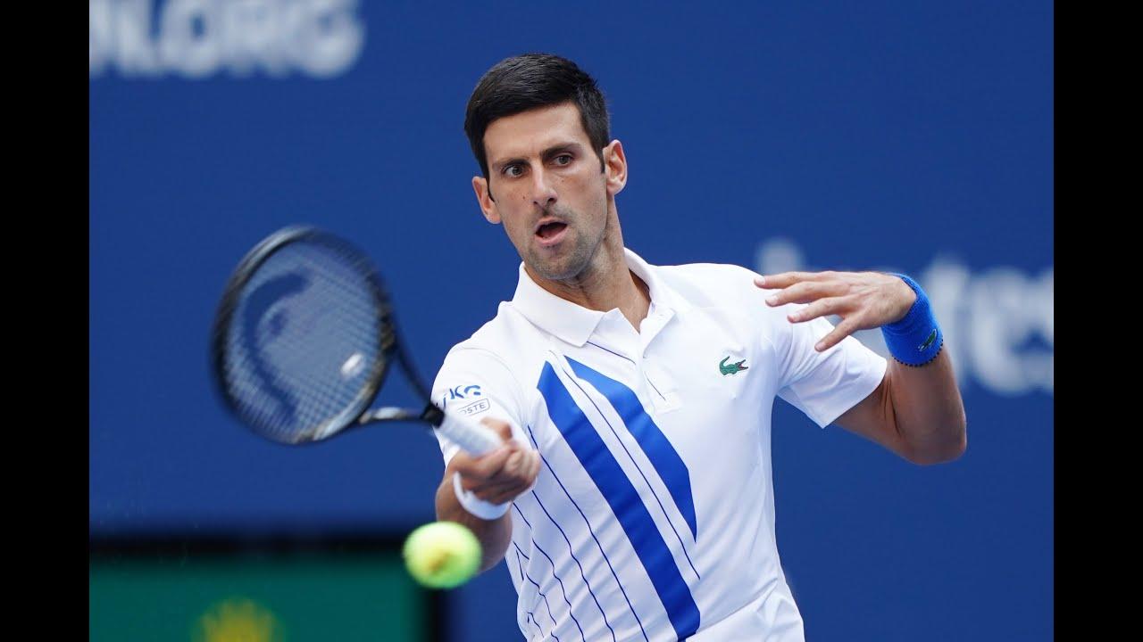 Novak Djokovic Vs Pablo Carreno Busta Us Open 2020 Round 4 Youtube