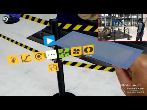 E learning in Augmented Reality AR with Microsoft Hololens