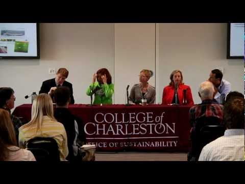 Engineering Sustainability Panel Discussion -- College of Charleston