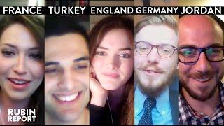 Rubin Report Fan Show: France, Turkey, England, Germany, Jordan (1)