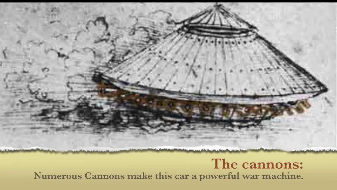 Leonardo Da Vinci's Tank - YouTube