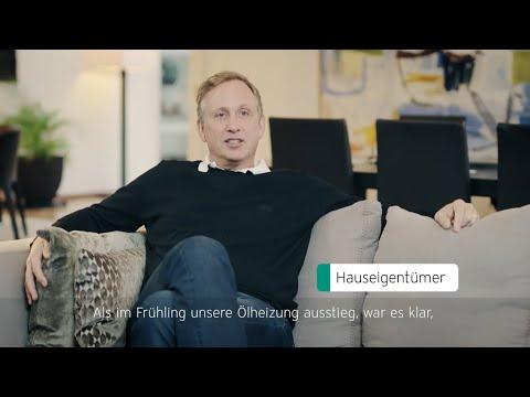 Referenz Hauseigentümer in Lenzburg, Aargau: Von der Ölheizung zur Wärmepumpe
