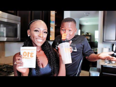 Dangerusdiva & Itsjfunk Try 310 Nutrition healthy shakes   Kid Approved?