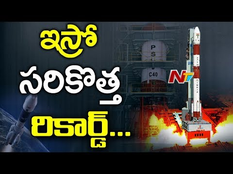 ISRO Successfully Launches it's 100th Satellite PSLV C40 || Sriharikota || NTV