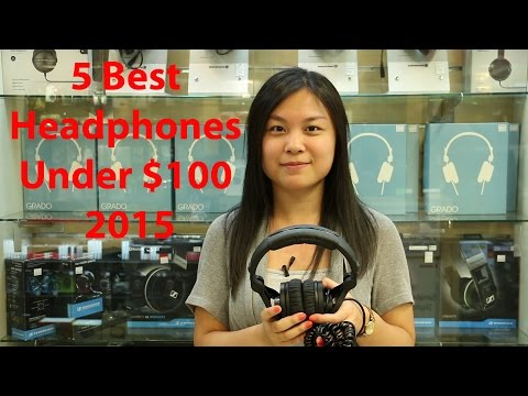 5 best Headphones review under $100 2015