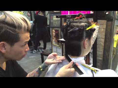 Hair bar Tuấn còi :p1 dạy cắt đầu bob mi vân