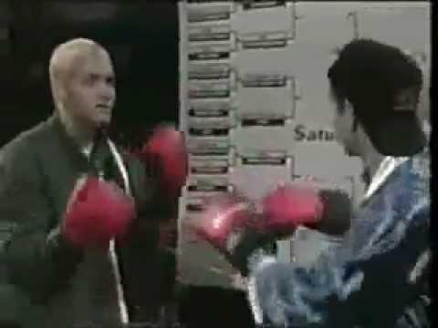Eminem boxing fight [RARE] '98