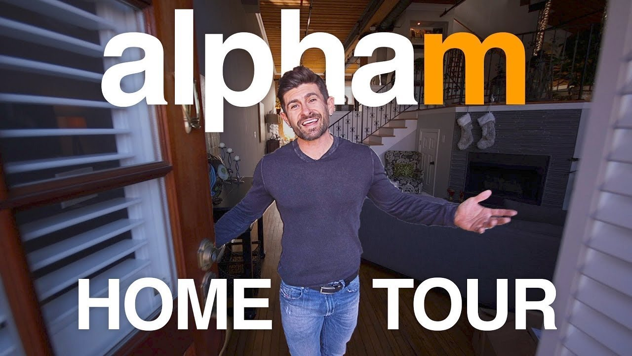 alpha m. HOME TOUR  | Come In & Check Out My Cool Crib!