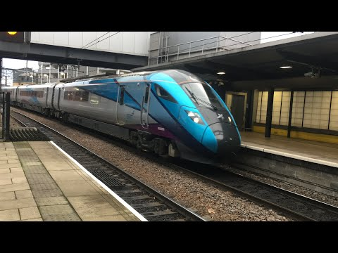 Transpennine Express 802 206 Arrives Into Leeds With A Newcastle To Manchester Airport Service