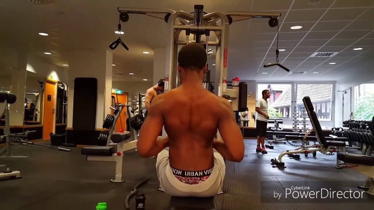 Back and biceps Workout for beginners - YouTube