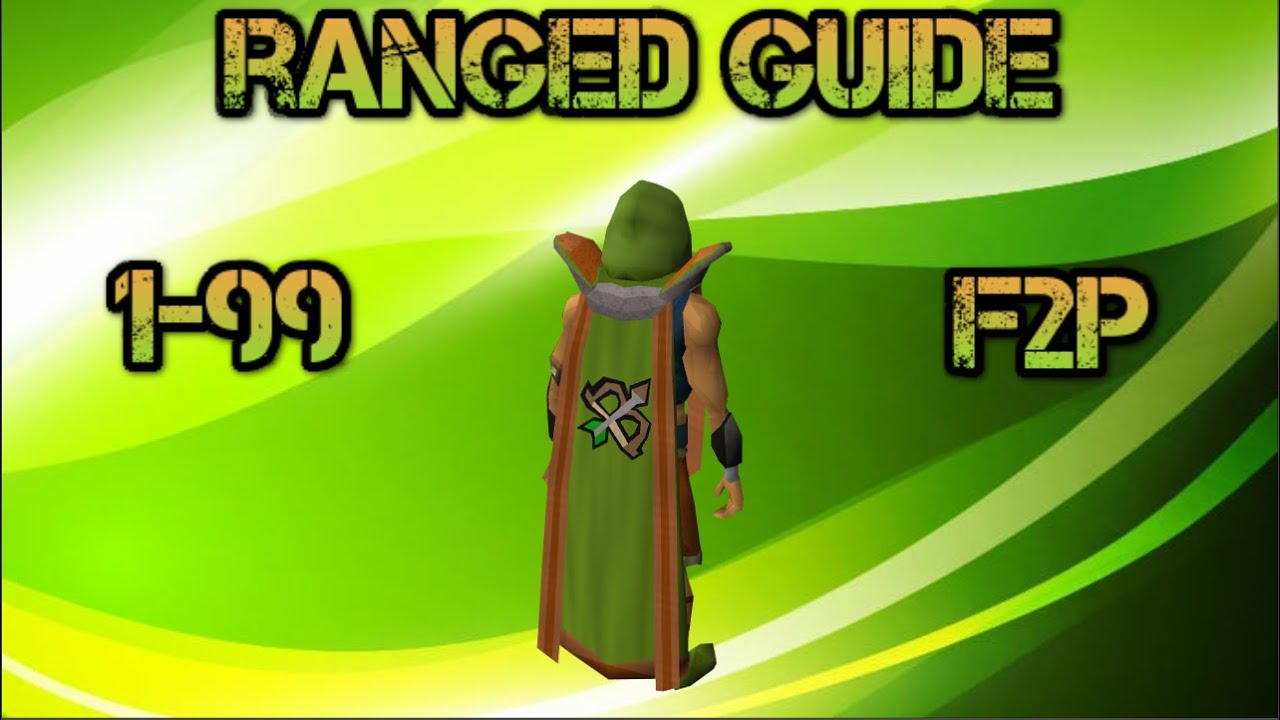 F2p osrs 1 99 ranged guide f2p old school runescape for Runescape exp table 1 99