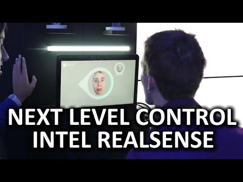 Intel Realsense - Next Level PC Interaction - CES 2015