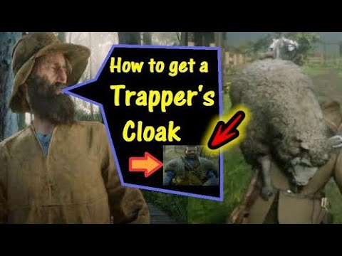 RDR2 How To Get A Trappers Cloak