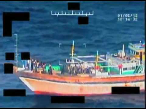 Navy: U.S. destroyer rescues Iranian fishing boat crew