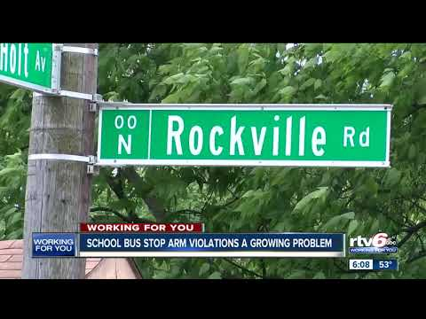 School Bus Stop Arm Violations A Growing Problem