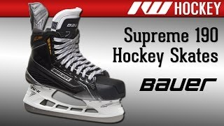 Bauer Supreme 190 Ice Hockey Skate Review