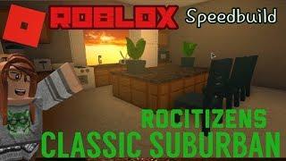 ROCITIZENS CLASSIC SUBURBANS SPEEDBUILD | Speedbuild | Roblox