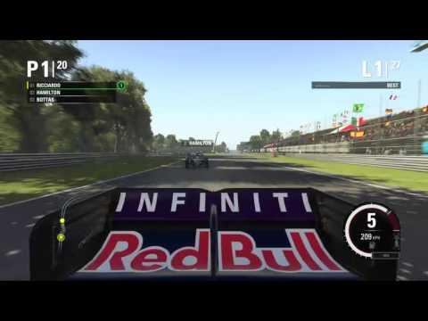 therealjojef gaming F1 race Italy
