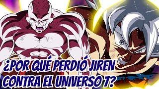 ¿Por qué perdió Jiren contra el universo 7? - Dragon Ball Super