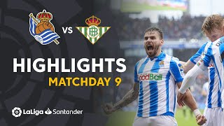 Highlights Real Sociedad vs Real Betis (3-1)