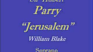 Jerusalem-Parry - Soprano.wmv