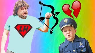 Who Ruined Valentines Day Part 2  pretend play kids fun video