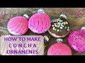 DIY Concha Ornaments MEXICAN PAN DULCE