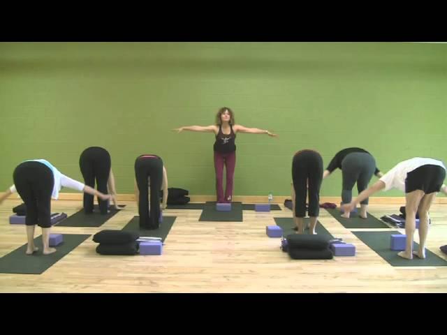 Gentle Kripalu Yoga Class With Megha Nancy Buttenheim Youtube