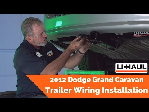 2012 Dodge Grand Caravan Trailer Wiring Installation - YouTube  YouTube
