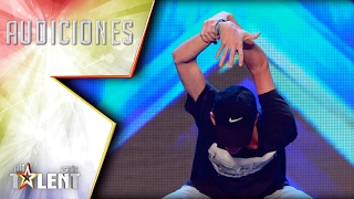 Samuel dances with every muscle in his body | Auditions 5 | Spain's Got Talent 2017