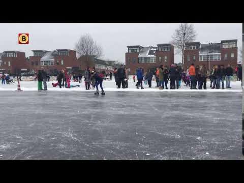 Schaatskampioenschappen voor kinderen in Empel