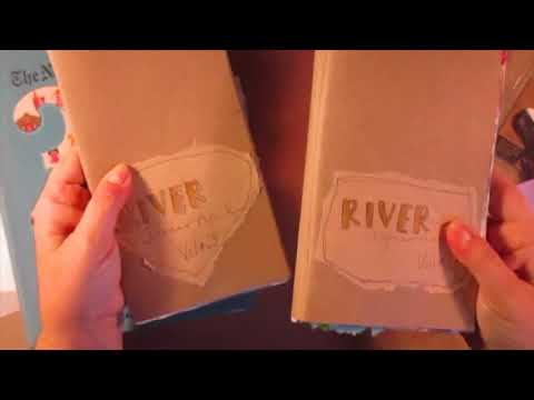 Travelers Notebook Process, River Journal, Day 22