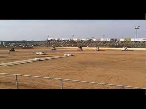 1000cc Sidewinder Sprints Trail-Way Speedway March 20th 2010 Feature Part2