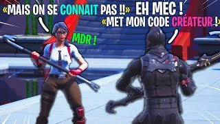 I ask strangers to put my Fortnite creator code! Here's their reaction...