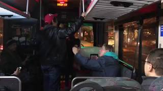 Funny Video: Old Hag Goes Crazy On Seattle Bus