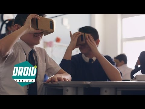 Google Cardboard: Expeditions and Jump out