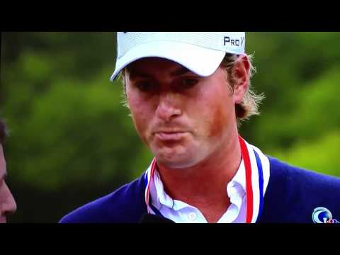Webb Simpon's US Open Interview Gets Interrupted
