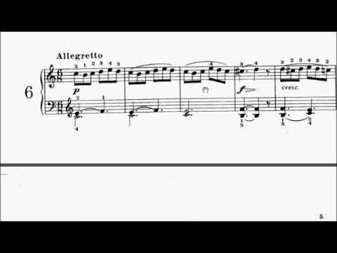 HKSMF 70th Piano 2018 Class 100 Grade 1 Diabelli Piano Piece Op.125 No.6 Sheet Music 校際音樂節