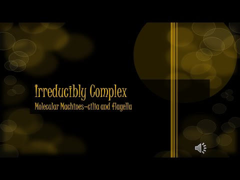 Irreducibly Complex Molecular Machines - Cilia and Flagella
