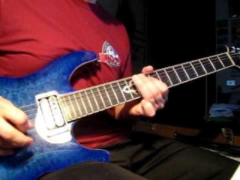 Cake - I Will Survive (guitar solo) guitar cover - YouTube