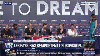 Les Pays-Bas remportent l'Eurovision, déception pour Bilal Hassani
