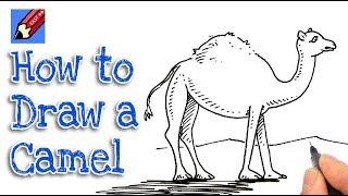 How to draw a Camel Real Easy - step by step