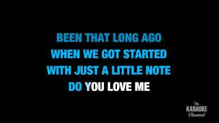 "Check Yes Or No in the Style of ""George Strait"" karaoke video with lyrics (no lead vocal)"